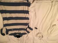 x2 Abercrombie & Fitch mens Polos Size L/M
