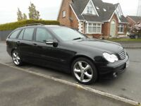 2004 MERCEDES C220 CDI AUTOMATIC ESTATE