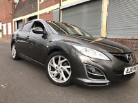 MAZDA6 2010 2.2 D Sport 5 door FULLY LOADED, F/S/H, 2 OWNERS, 3 MONTHS WARRANTY, BARGAIN