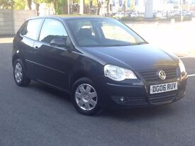 2006 (Mar 06) VOLKSWAGEN POLO 1.4 S - Hatchback 3 Dr - Manual - Petrol - BLACK *12 MONTHS MOT/FSH*