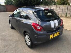 Vauxhall Corsa S 1.0 Ecoflex. 35K Miles, FSH! £30 Tax, HPi Clear.