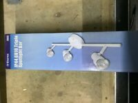 Eterna GU10 Triple Spotlight Bar White DS3BWH