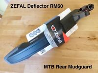 ZEFAL Deflector RM60 MTB Rear Mudguard Mountain Bike Cycle NEW+TAGS *Cheapest online*