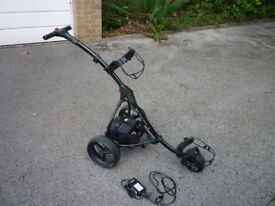 Motocaddy S1 Electric Golf Trolley, full working order, lead battery and charger