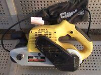 clarke contractor cbs2 belt sander