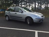 QUICK SALE- 54 PLATE FORD FOCUS 1.6 PETROL// VERY LOW MIL. 46K-- FULL SERVICE HISTORY-- ONE YEAR MOT