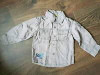 Boys designers top shirt 18-24m