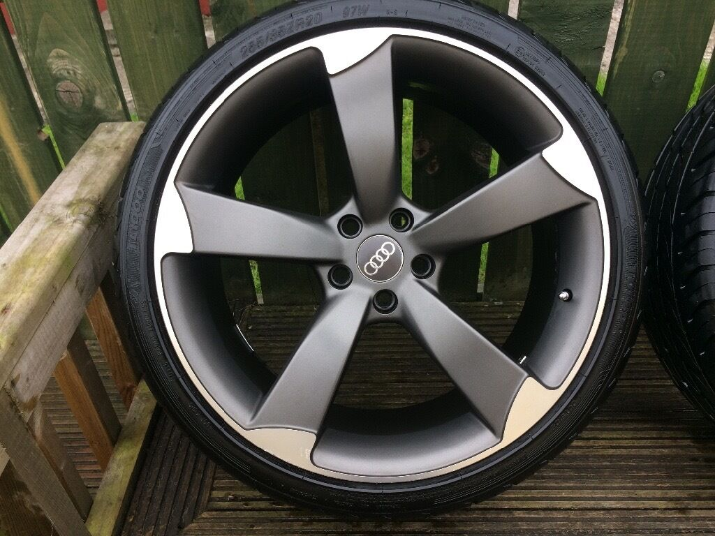 20 Inch Ttrs Alloys Vw Audi A6 Black Edition In Dungiven