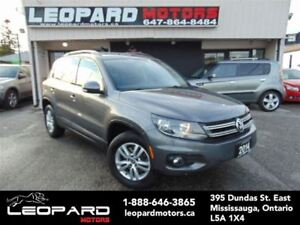 2014 Volkswagen Tiguan Heated Seats,4wd,Bluetooth*No Accident*