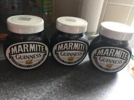 Collectors Item!!! Limited edition Guinness Marmite x 3
