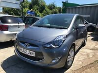 FINANCE £126 PR MONTH 2012 HYUNDAI IX20 STYLE AUTOMATIC 1.6 PETROL 5 DOOR. 32400 MILES 2 KEYS USB