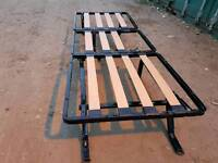 Camp bed frame. Foldable and Good co