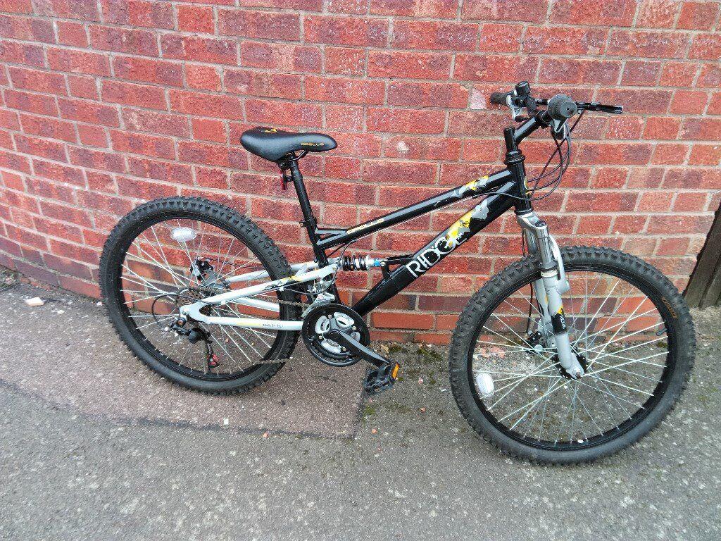 """men's apollo ridge bike 24""""disc brakes wheels"""