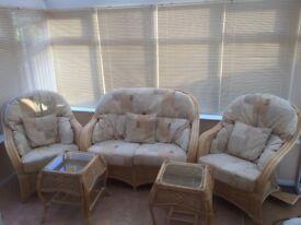 Conservatory furniture 5 piece set
