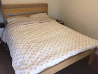 Double Bed and mattress for Sale, Very good condition