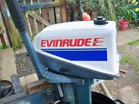 OUTBOARD EVINRUDE 4.5HP LONGSHAFT