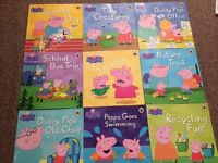 Bundle of Peppa Pig Books - excellent condition