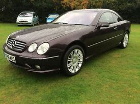Mercedes-Benz AMG 5.4 CL55 2dr Triptronic,70000 miles,MOT FEB 2017,new wheels and tyres all round