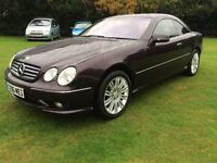 Mercedes-Benz AMG 5.4 CL55 2dr Triptronic,70000 miles,NEW MOT,new wheels and tyres all round