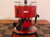 DeLonghi Coffee Machine - Model ECO310R - RED
