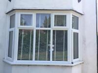 2 x UPVC Bay Double Glazed Bay Windows