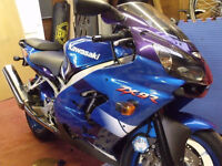 Wanted, Kawasaki ZX9R E1 blue, standard, low miles.