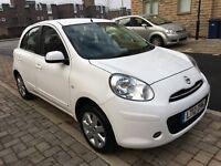 Nissan Micra 2012+Automatic+Sat Nav+Bluetooth+Full Service History