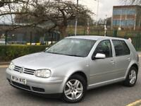 **RARE (2004) + BULLETPROOF MACHINE + VOLKSWAGEN GOLF GT TDI PD 130 1.9 SILVER IN IMMAC CONDITION**