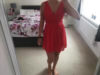 Medium red dress