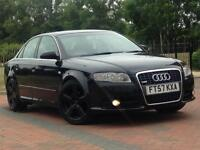Audi A4 2.0TDI 2008reg (140bhp) S-Line Automatic Sat-Nav/Leather Seats/ All 4 Windows Electric