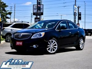 2016 Buick Verano Leather Leather Navi Sunroof Alloys