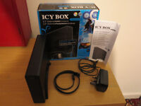 Icy Box IB-366 external 2.0 sata hdd 3.5 enclosure