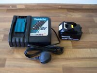 Makita Charger and 3aH battery brand new