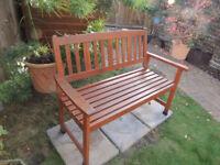 Teak Garden Bench 120 Cm