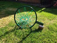 Netball Ring (new), Mitre Attack Netball & Pump