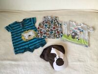 Bundle of baby boys clothes 9-12 months (summer)