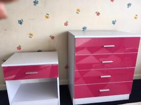 Pink wardrobe set
