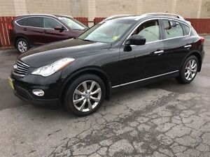 2013 Infiniti EX37 Luxury, Leather, Heated Seats, AWD, Only 44,