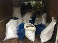 Free bags rubble