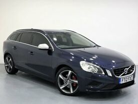 Volvo V60 1.6 D2 R-Design 5dr (start/stop) 1 OWNER+FSH+ CAMBELT CHANGED FINANCE FROM £38 P/W
