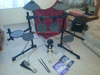 Yamaha DTXpress II Electric Drum Kit