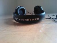 Sennheiser HD 201 Closed Dynamic Stereo Headphones For Studio, Performance Live