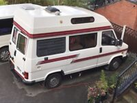 Talbot Express Camper with Autosleeper and an LPG conversion.
