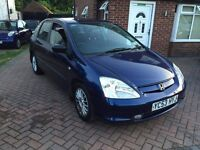 2003 Honda Civic 1.7 CTDI Sport with MOT