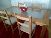 Bargain dining room table