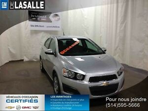 2014 CHEVROLET SONIC 5 LS,$39.99 par sem o cash tax inclus