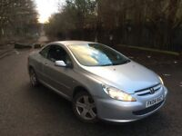2005 55 PLATE PEUGEOT 307CC CONVERTIBLE 2.0 PETROL LOW MILEAGE 70K TAX & TESTED ***BARGAIN***