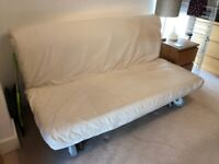 Ikea Cream Double Futon/sofabed/guestbed