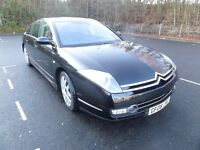 Executive Saloon Citroen C6 2.7 HDi V6 Lignage 4dr. Rare car with ultra high specifications.