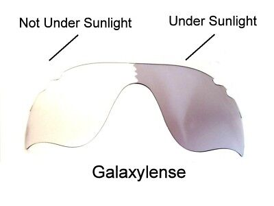 Galaxy Replacement Lens For Oakley Radarlock Path Vented Sunglasses Photochromic for sale  Shipping to Canada